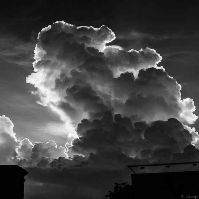 Photograph The big cloud by Josep Girona on 500px