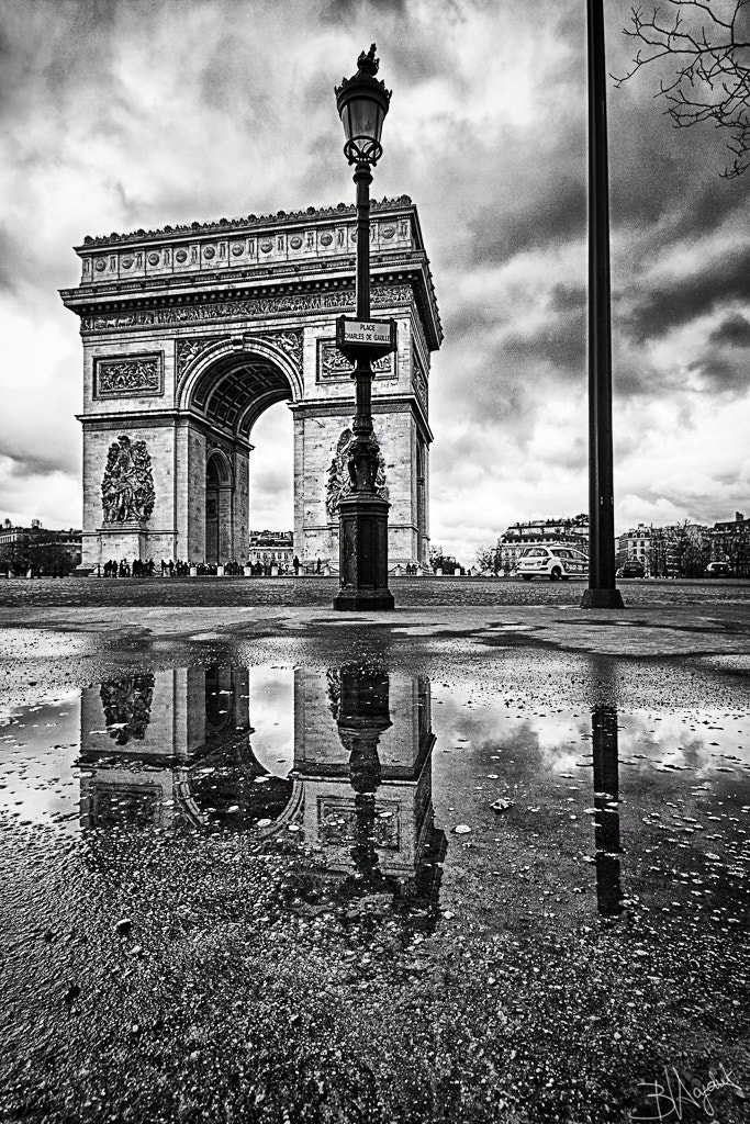 Photograph Arc de Triomphe, Paris by Bastien HAJDUK on 500px