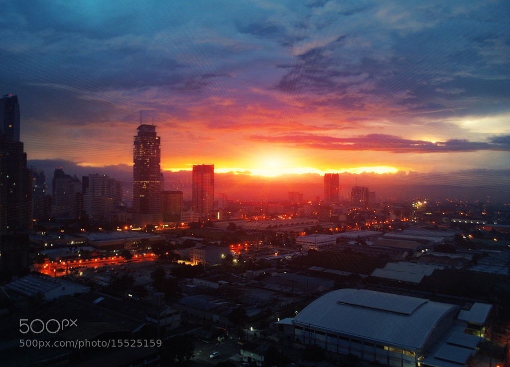 Photograph SUNRISE AT ORTIGAS, PHILIPPINES by VEGIE TIPUDAN on 500px