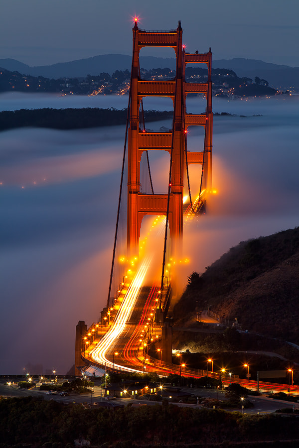 Photograph Fog from Hawk Hill  by Alan Chan on 500px