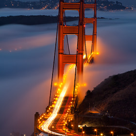 Fog from Hawk Hill  by Alan Chan (AlanChan)) on 500px.com