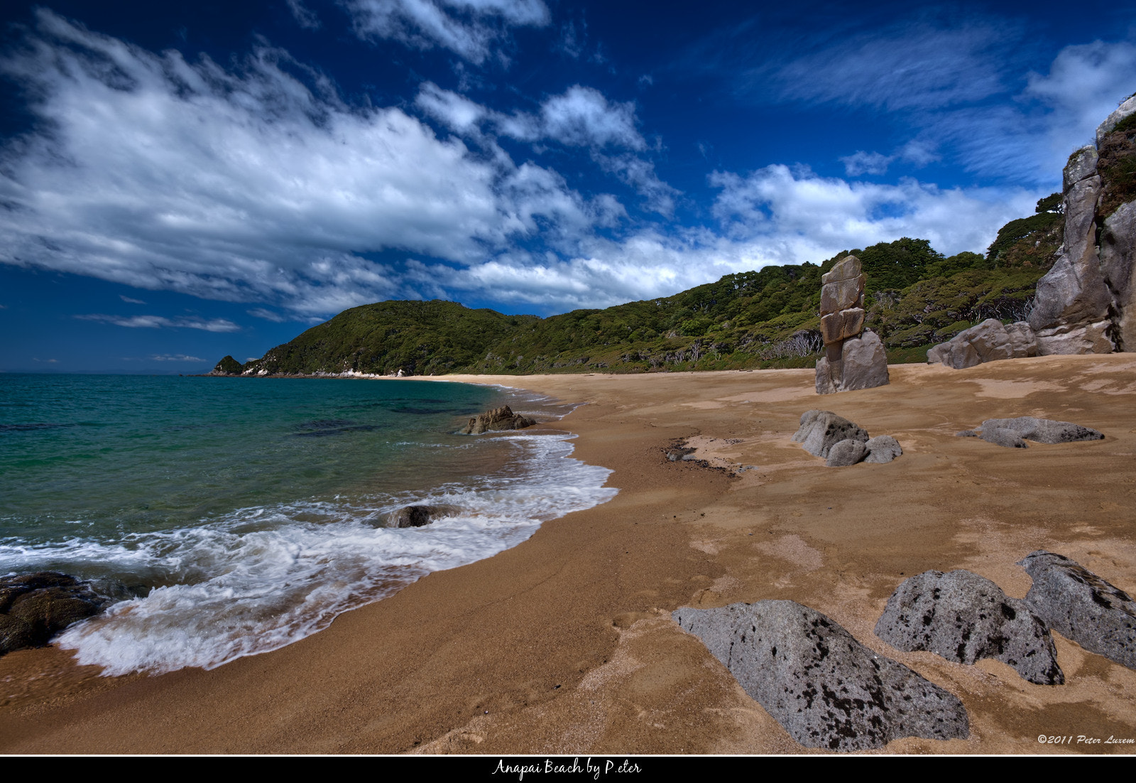 Photograph Anapai Beach by Peter Luxem on 500px