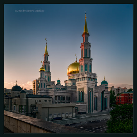 Moscow Cathedral Mosque, Pentax 645D