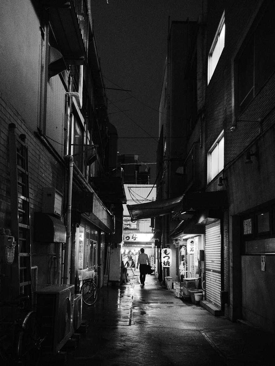 Photograph Rainy back street by Takuji Sato on 500px