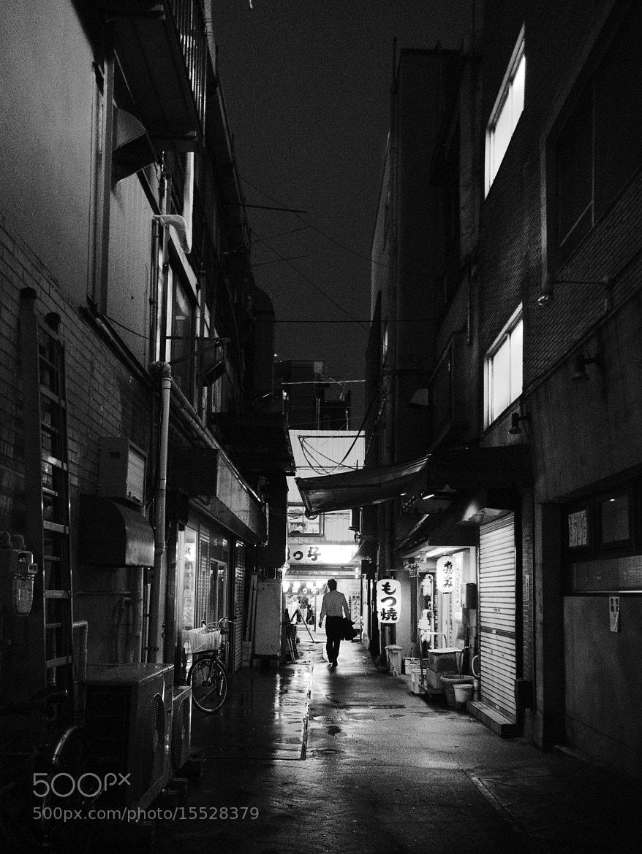 Photograph Rainy back street by Takuji Sato on 500px