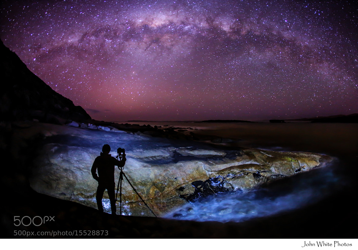 Photograph Milky Way by John White on 500px