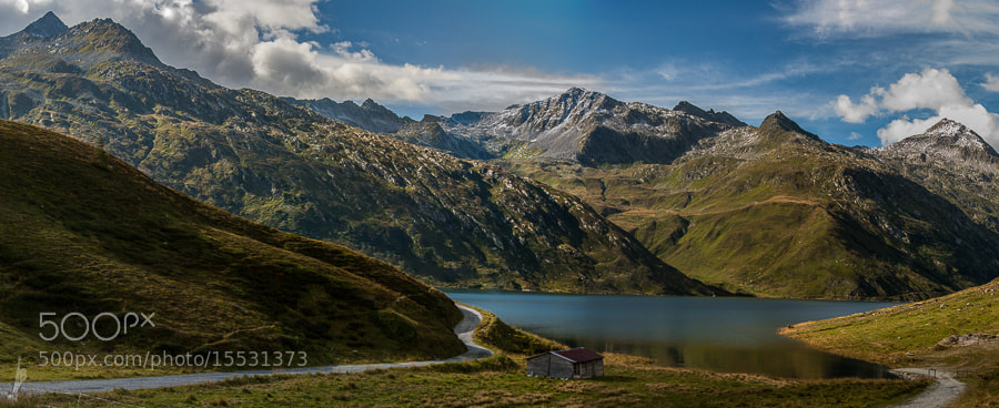 Photograph Switzerland valley by André Bazzana on 500px