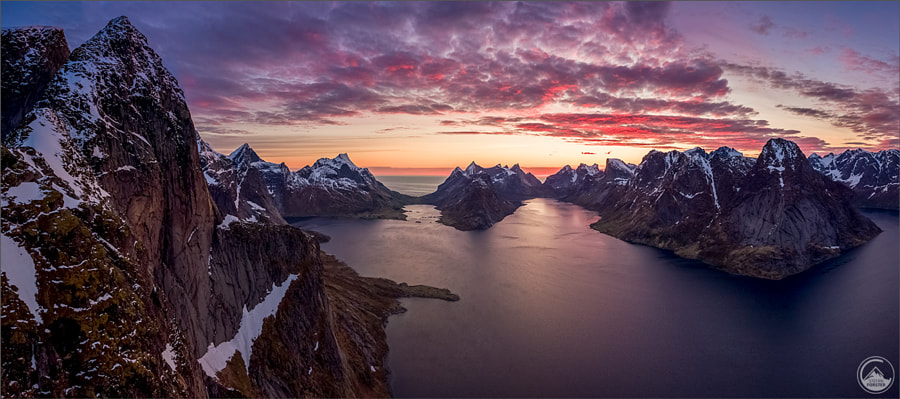 Midnight Sunset - A dream came true by Stefan Forster