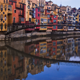 Girona Reflections by Natasha Pnini (natashapnini)) on 500px.com