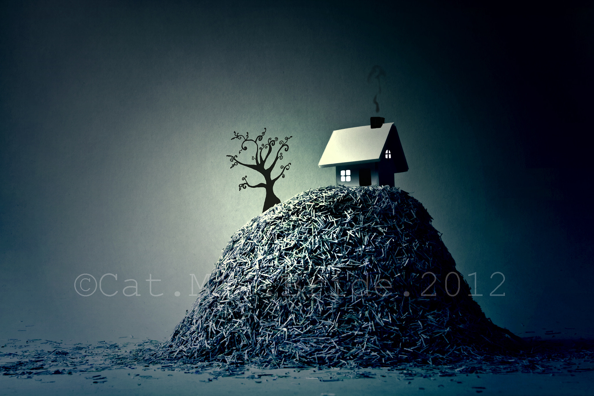 Photograph The house on paper hill by Catherine MacBride on 500px
