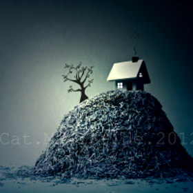 The house on paper hill by Catherine MacBride (catmacbride)) on 500px.com