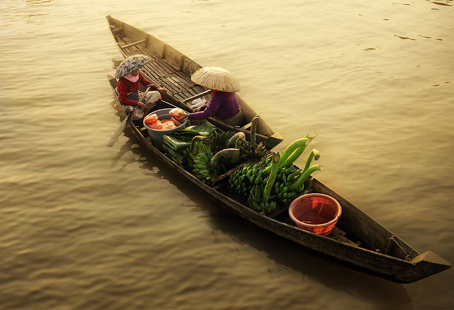 Photograph floating market by asit  on 500px