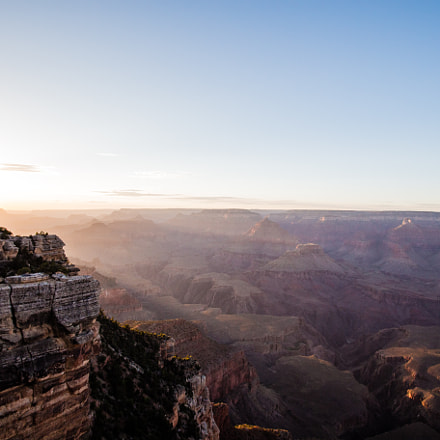 Sunset in the Canyon, Canon EOS 6D, EF16-35mm f/2.8L USM