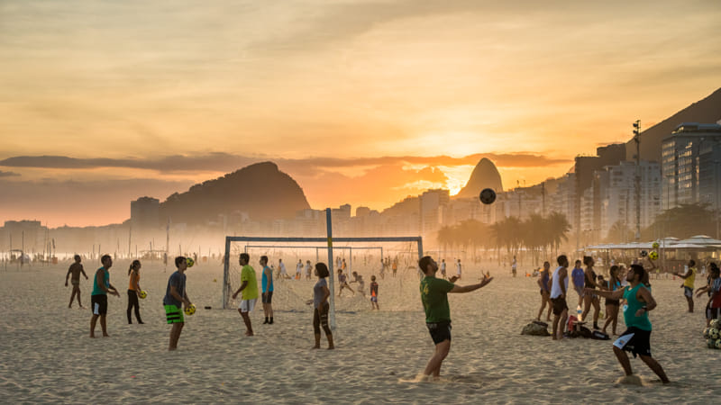 beach volley and soccer  by Janet Weldon on 500px