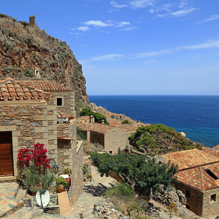 On the Rock of Monemvasia