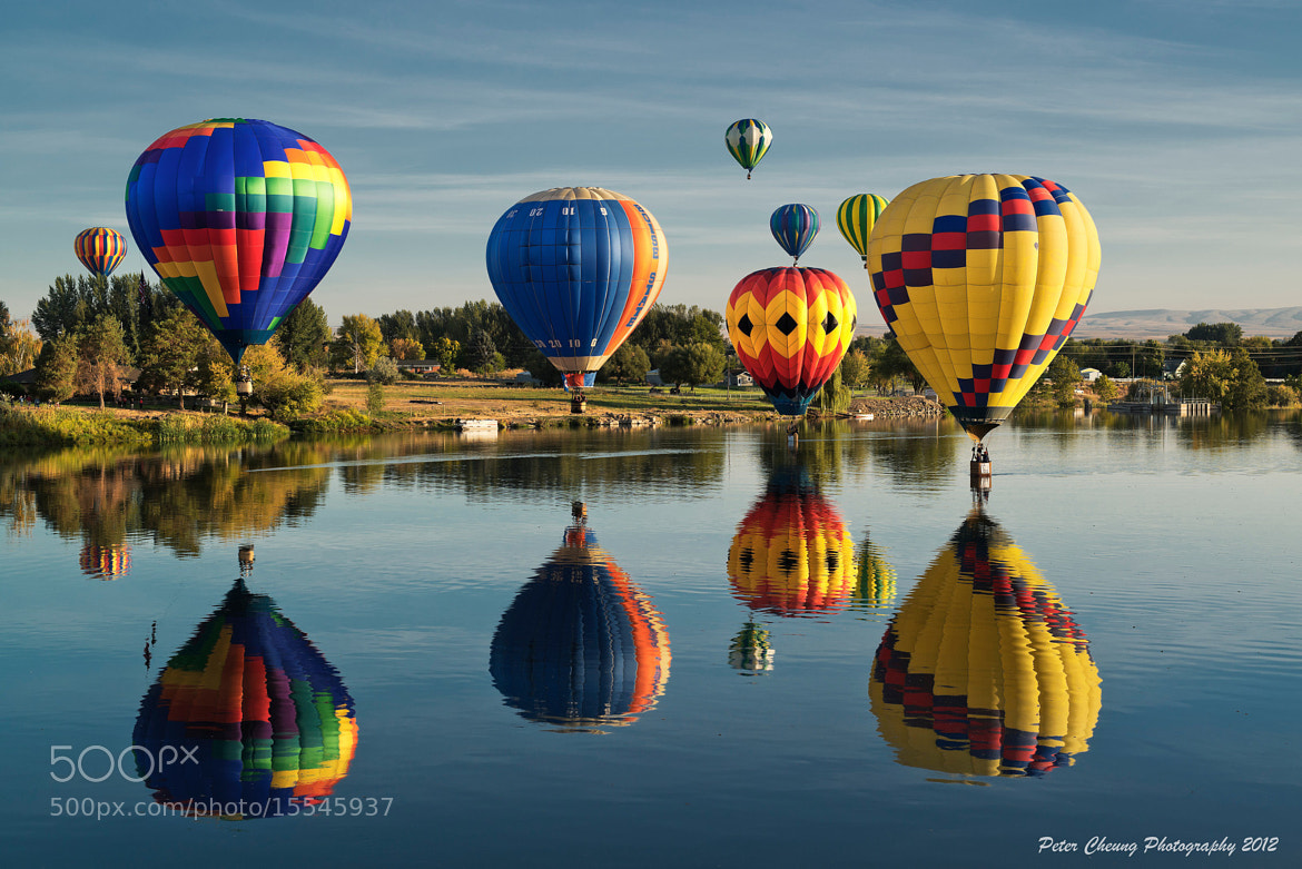 Photograph Balloon Festival by Peter Cheung on 500px