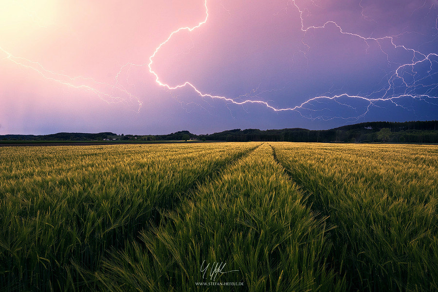 Landscape Photo – Countrystorm by Nature and Landscape Photographer Stefan Hefele