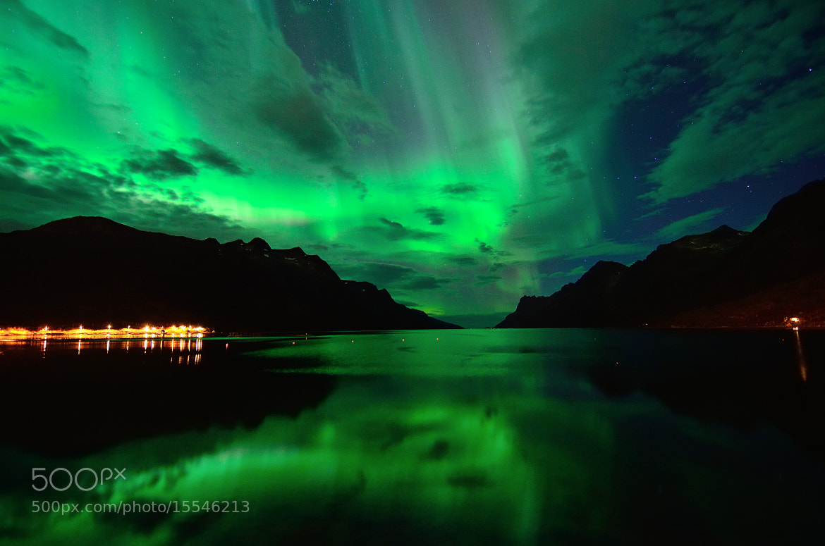 Photograph Last night in Ersfjordbotn by John Hemmingsen on 500px
