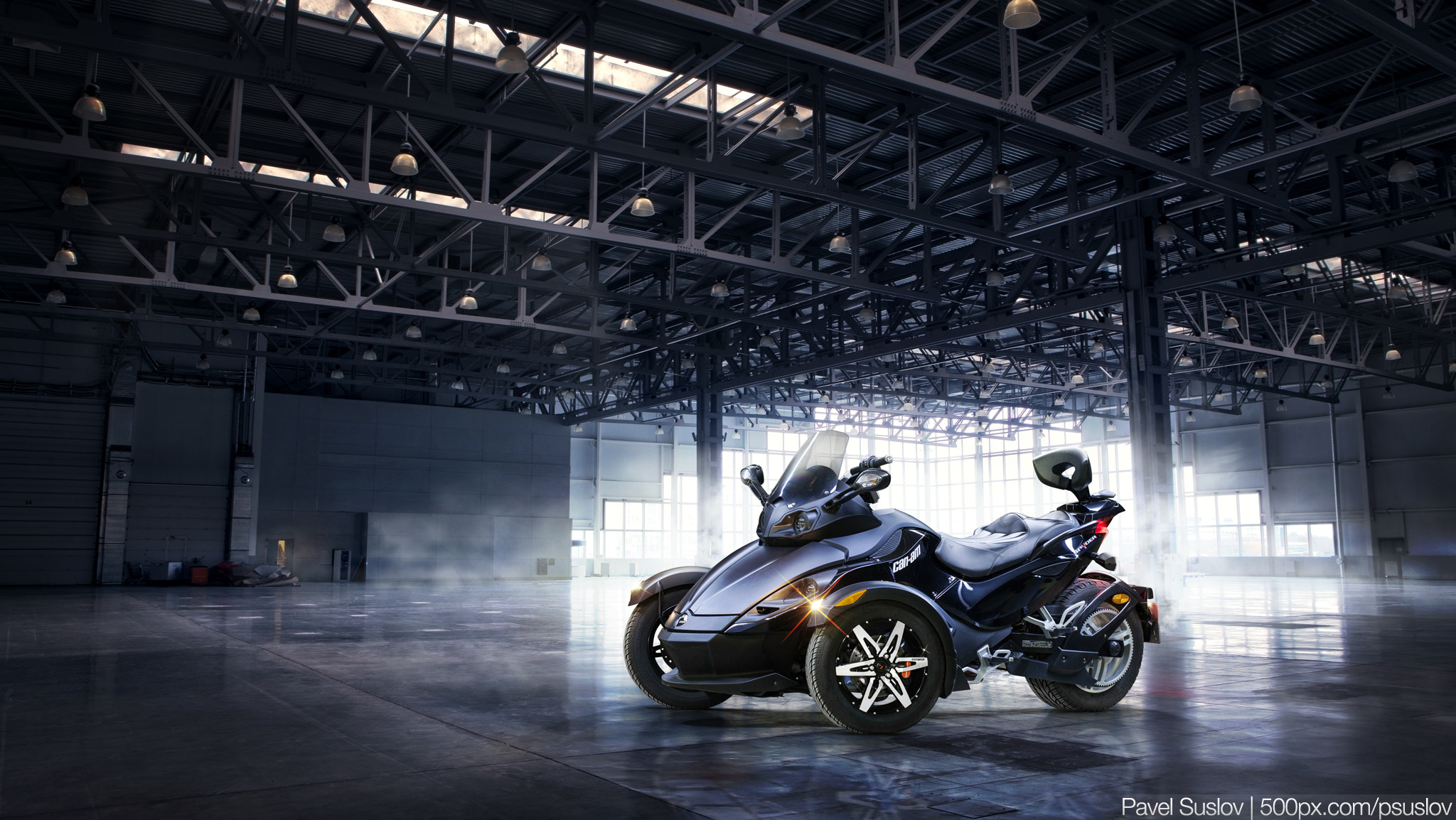 Photograph Can-Am Spyder (2012) by Pavel Suslov on 500px