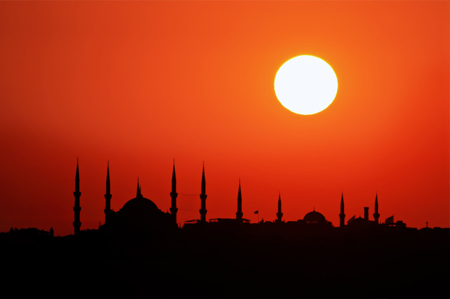 Photograph Istanbul Sunset by Timucin Toprak on 500px