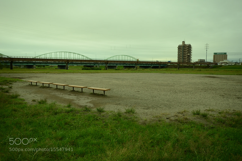 Photograph deserted baseball field by Sayaka Suzuki on 500px