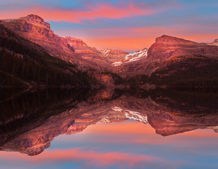 Photograph Lake O'Hara Sunset - Canadian Rockies by Kevin McNeal on 500px