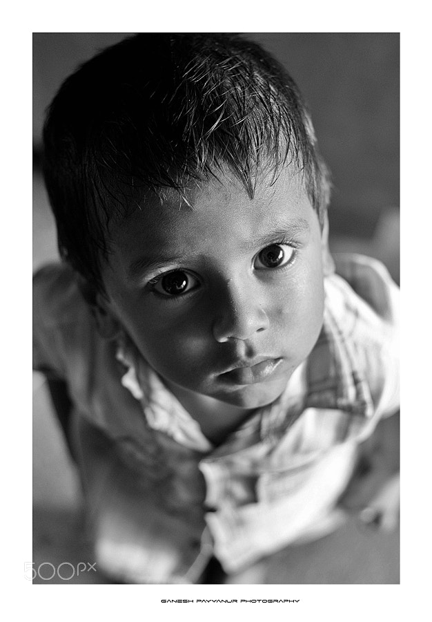 Photograph The Kiddo!! by Ganesh Payyanur on 500px