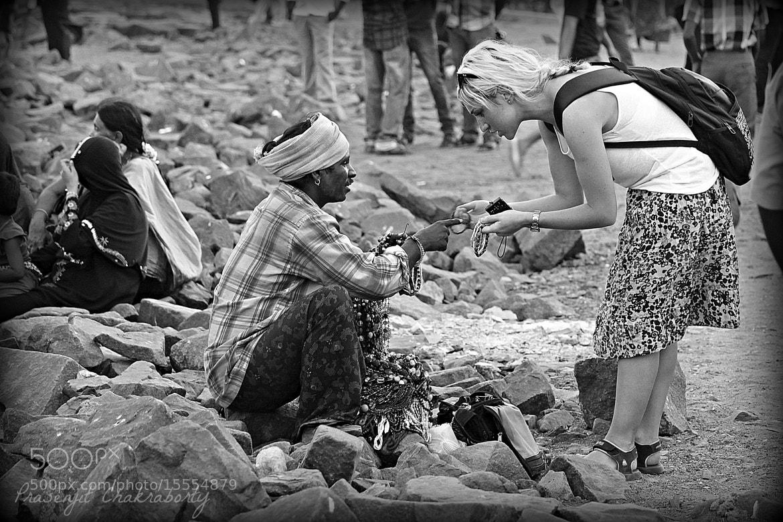 Photograph The Suggestive Saleperson...  by Prasenjit Chakraborty on 500px