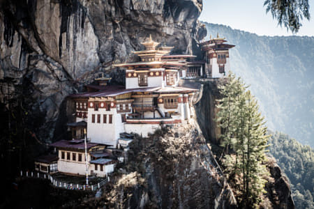 Paro Taktsang Tiger's Nest Temple Bhutan by Janet Weldon on 500px