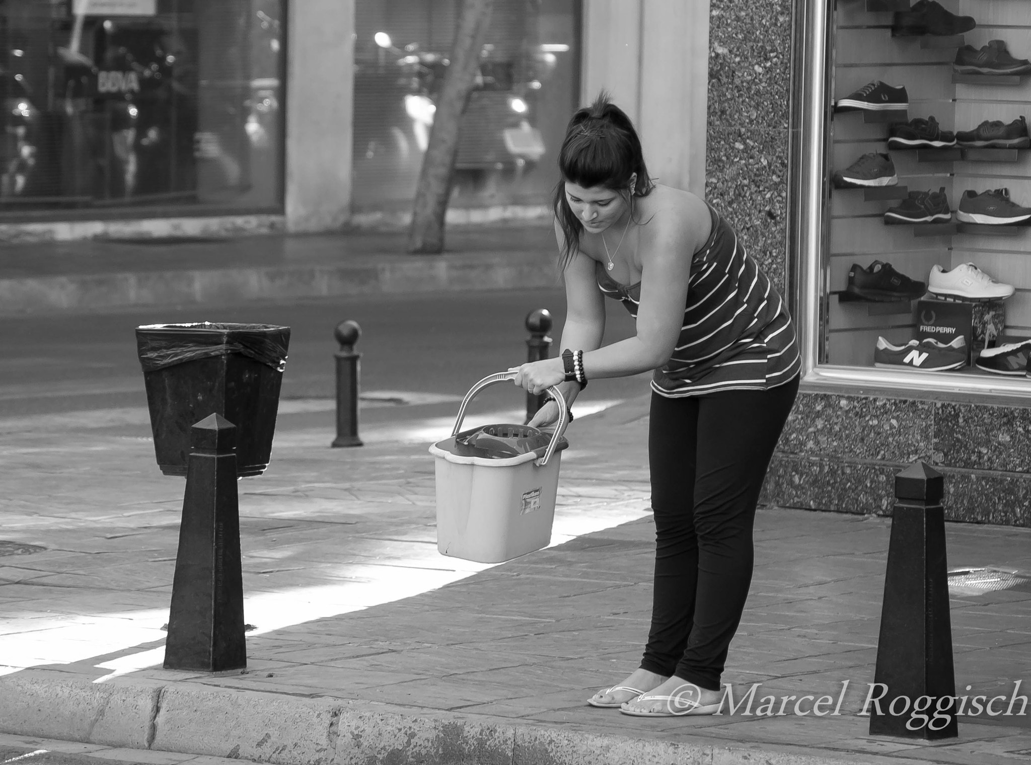 Photograph The Bucket Girl by Marcel  Roggisch on 500px