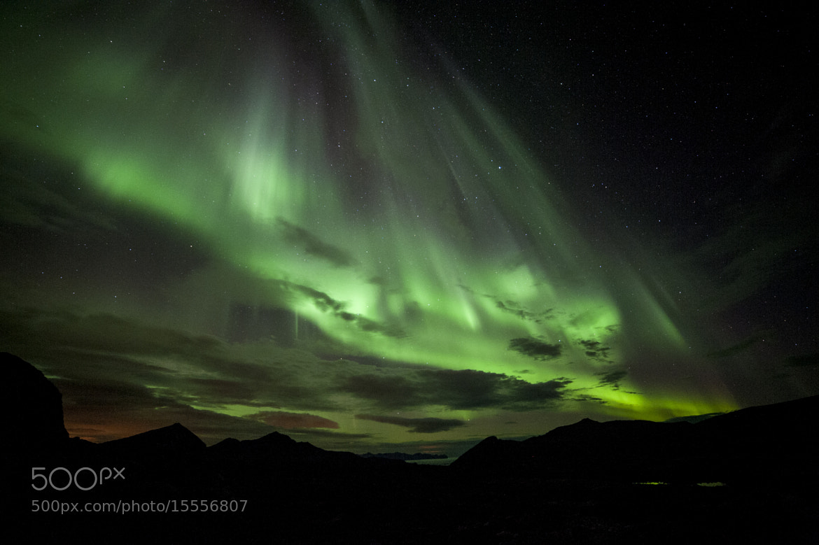 Photograph Aurora light show#6 by Truls Christian Olsen on 500px
