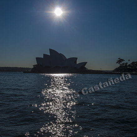 The Sydney Opera. Australia, Panasonic DMC-L10