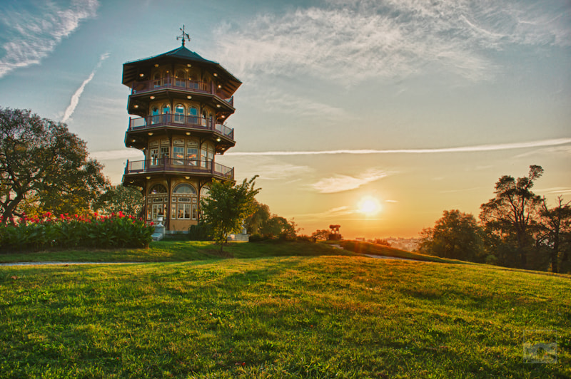 Photograph Patterson Park Pagoda, Baltimore City by Aaron Stanley on 500px