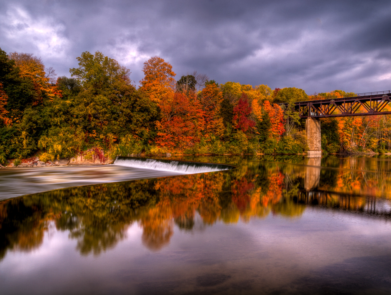 Photograph Paris Ontario Fall Colors by Kevin Pepper on 500px
