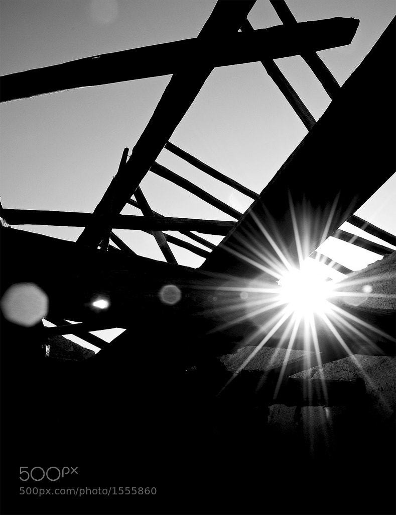 Photograph Light through the roof by Piervincenzo Madeo on 500px