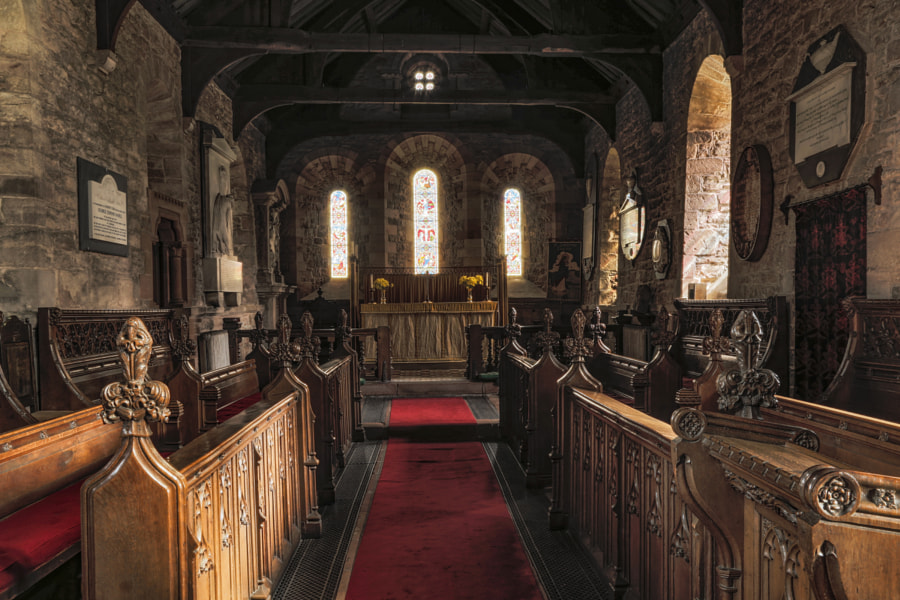 Dacre Church interior