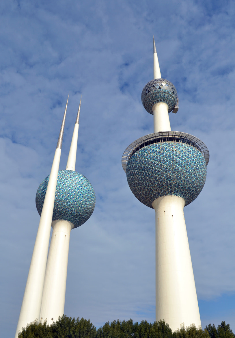 Photograph Kuwait Towers by Riz Shuaib on 500px
