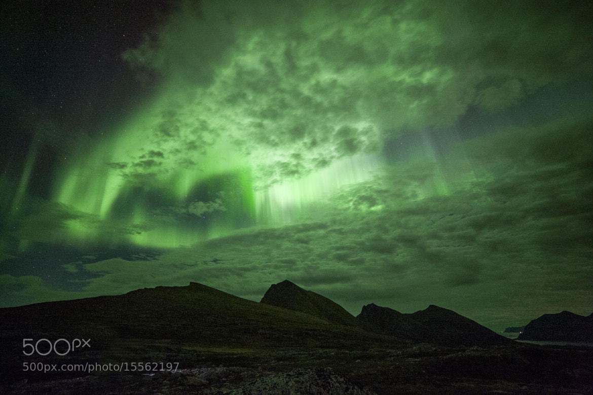 Photograph Aurora flash by Truls Christian Olsen on 500px
