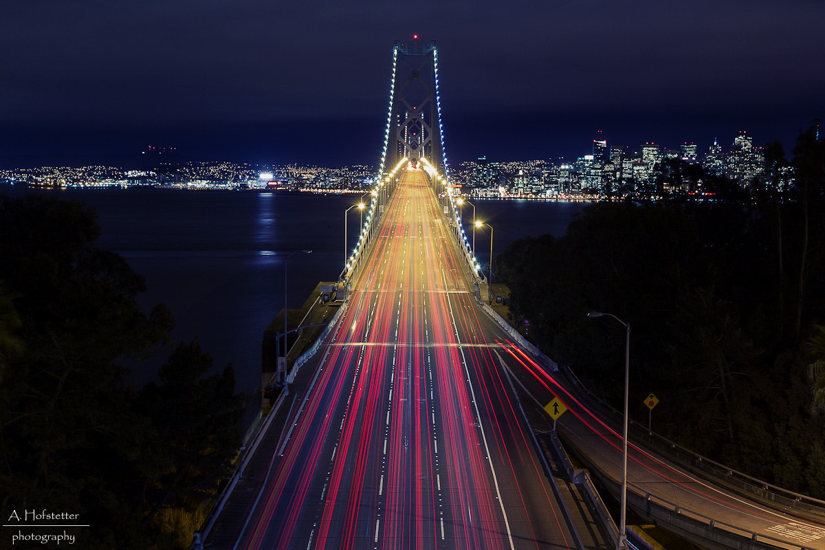 Photograph Bay Bridge San Francisco by Andi Hofstetter on 500px