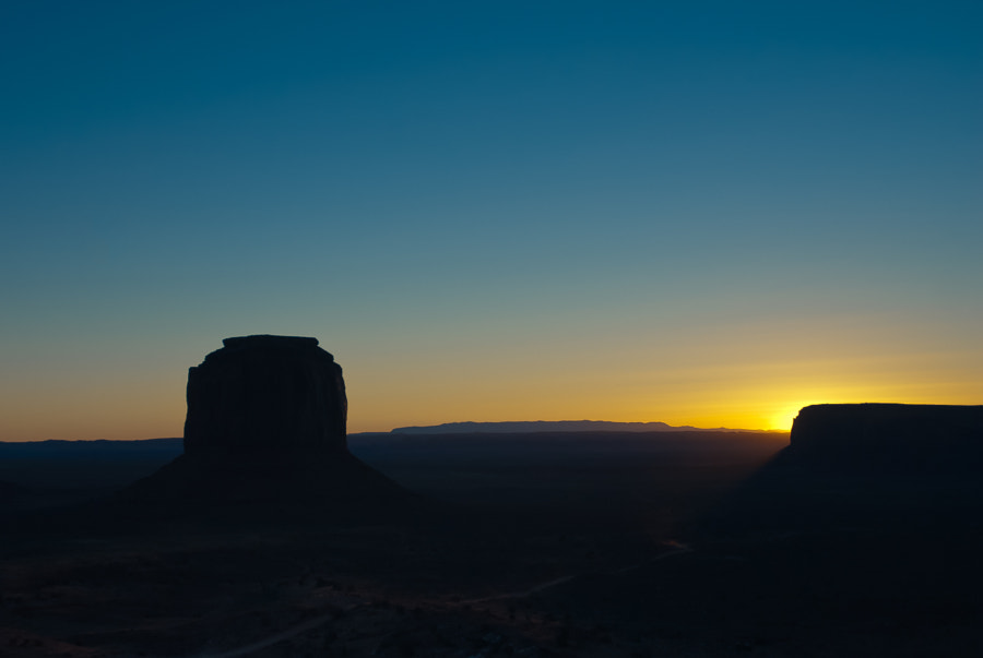 Sunrise in Monument Valley #2