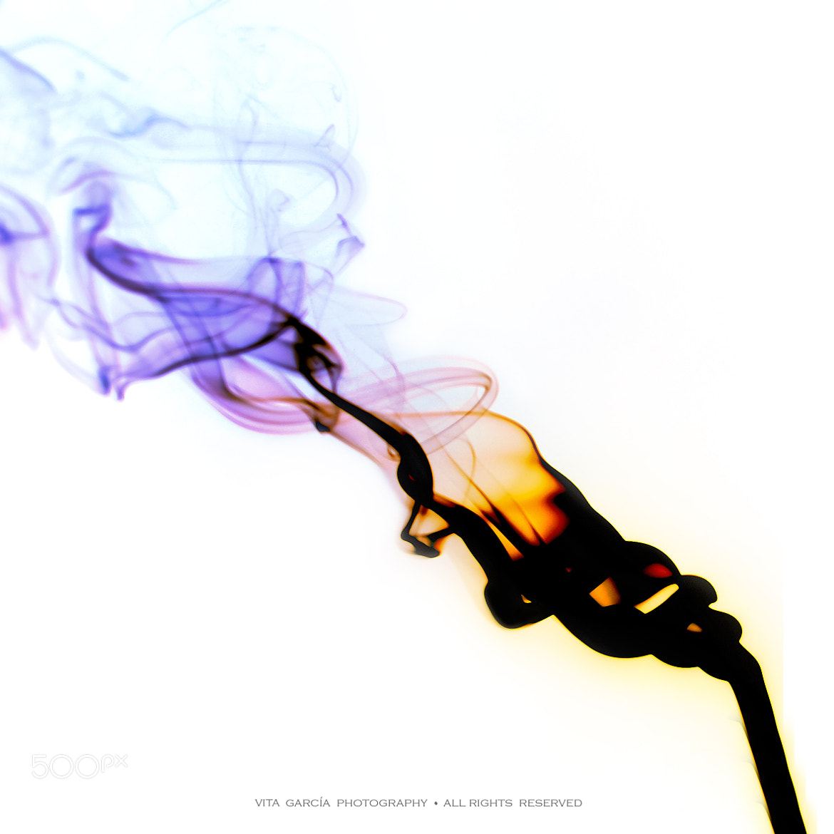 Photograph Smoke Calla... by Vita García on 500px