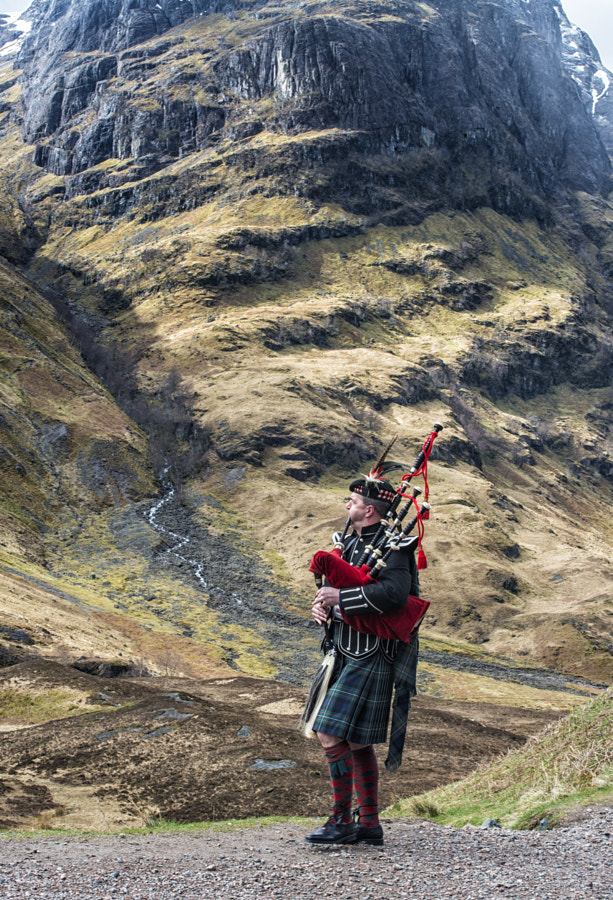 Highland Pipes by Anthony W. S. Soo on 500px.com