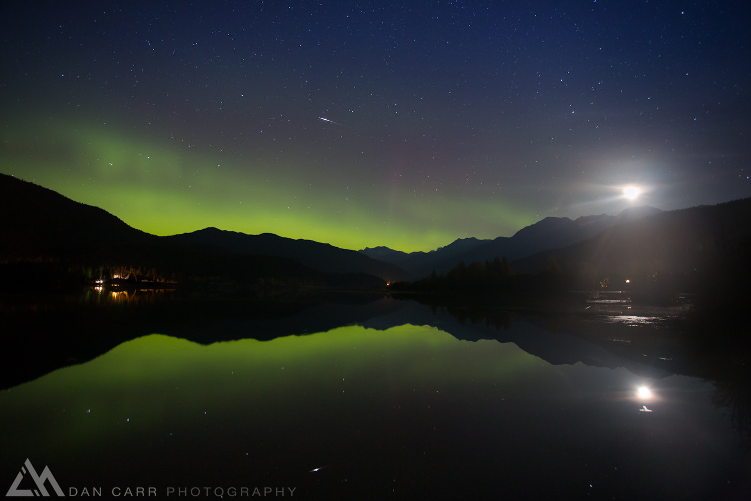 Photograph Shooting Aurora Moonrise  by Dan Carr on 500px