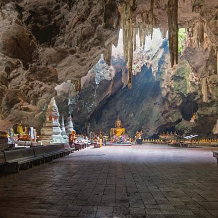 Buddha Cave Petchaburi Thailand