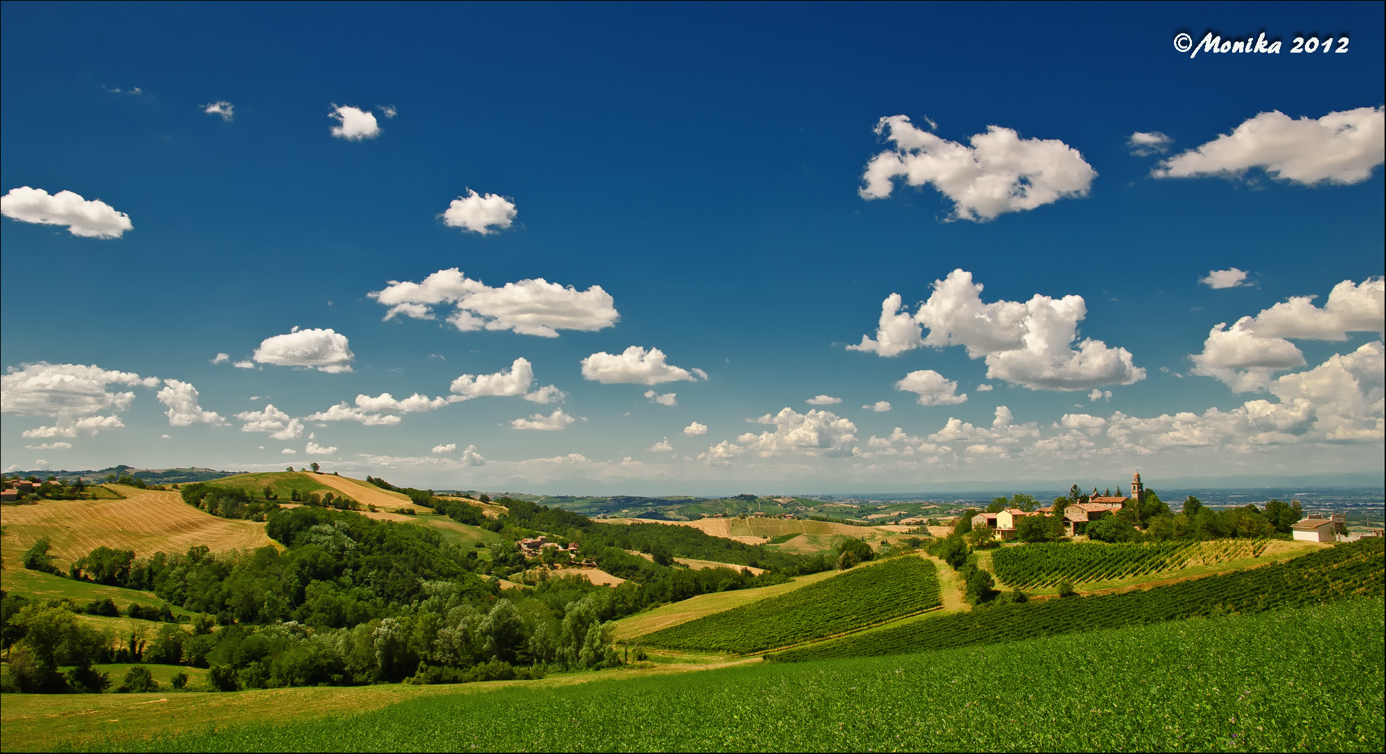 Photograph LE COLLINE DI VIDIANO by Monika Fotografie on 500px