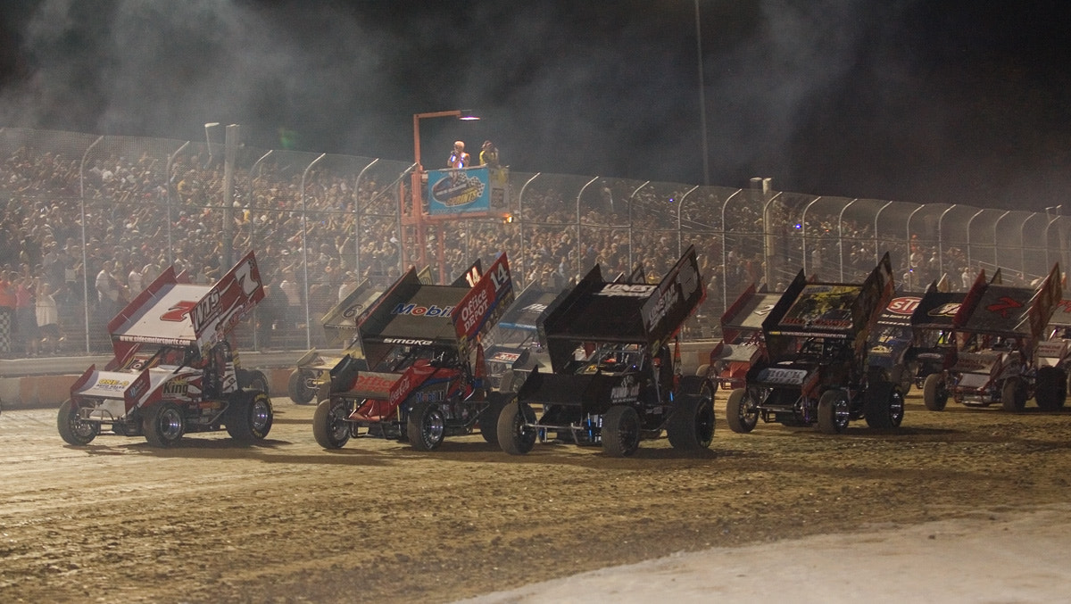Photograph World of Outlaws by Phil Armishaw on 500px