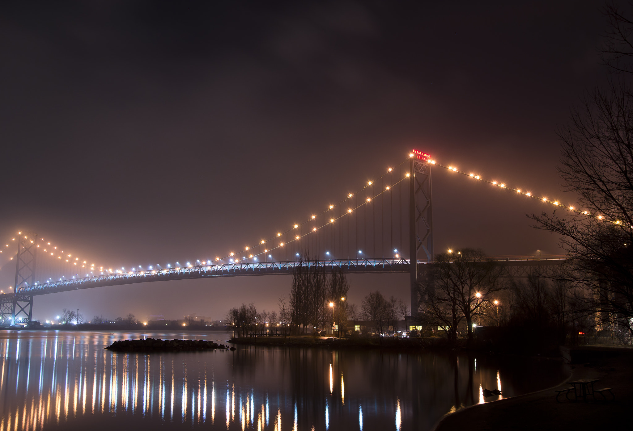 Photograph Foggy Ambassador Bridge by Mike Swiech on 500px