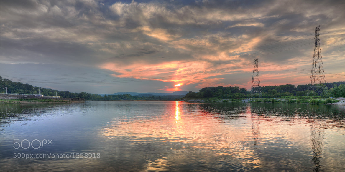 Photograph Tennessee River Sunset by J. Mark Edmonds on 500px