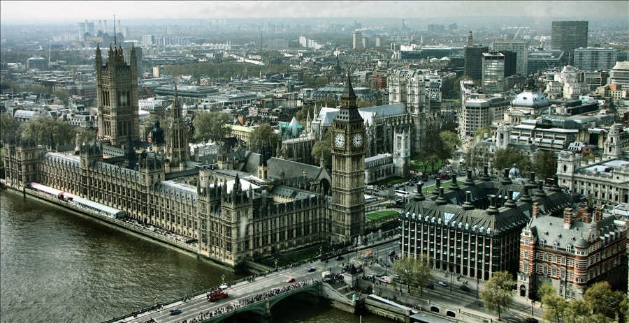 Photograph London from London eye! by Horia Scubli on 500px