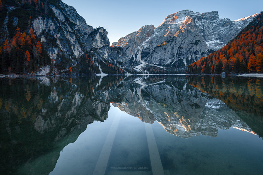 Magic Lake by guerel sahin